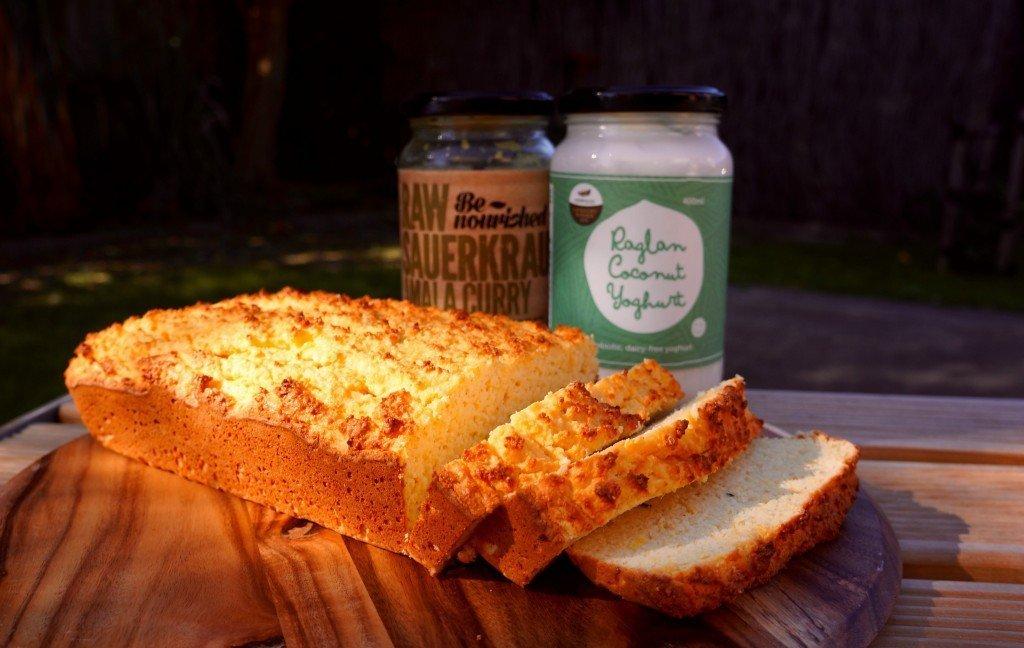Savoury Sauerkraut & Coconut Loaf