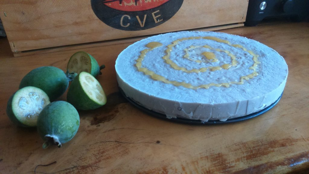 Feijoa, Honey & Coconut Cheesecake 2