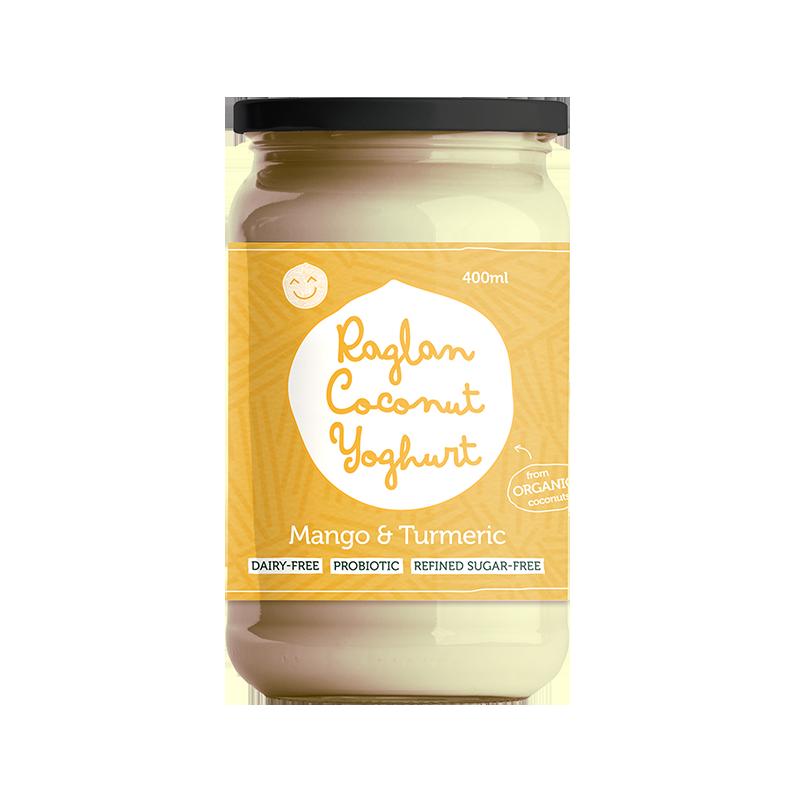 Raglan Coconut Yoghurt 400ml Mango