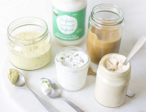 Four 4-Ingredient Vegan Salad Dressings (v, gf, df, rsf)