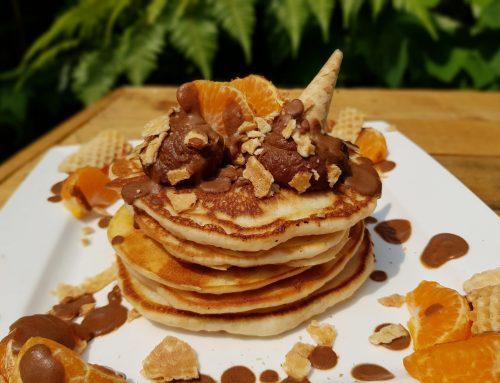 Vegan 'Nutella' Pancakes (v, df)