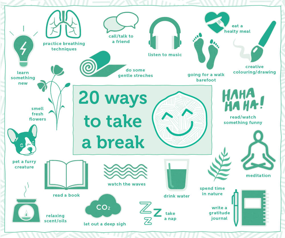 20 Ways to Take a Break