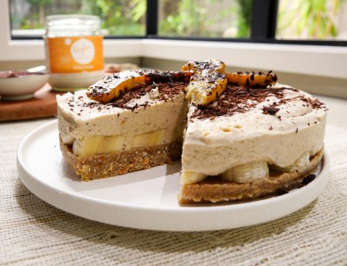 Raw Banoffee Pie (v, gf, df)