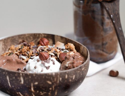 'Nutella' Smoothie Bowl (v, df)