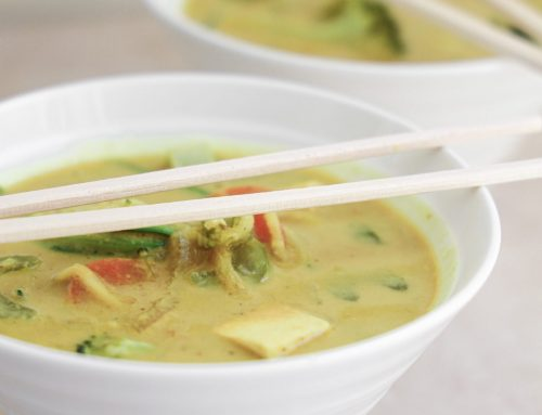 Coconut Curry Zoodle Ramen (v, df, gf, rsf)