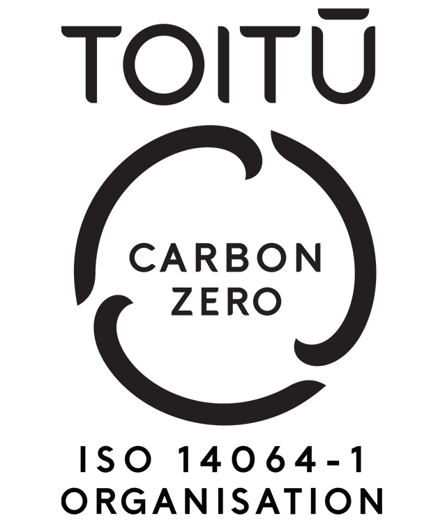 Toitu Carbon Zero Organisation logo